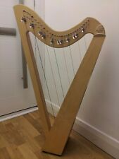 Harp 27 Strings, Harp is partially Leverd, Stringed Instrument.