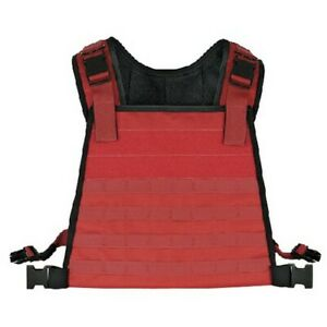 Voodoo Tactical 20-002716000 Instructor High Visibility Plate Carrier (Red)
