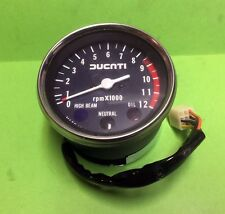 Ducati parallel twins 350-500 GTV rev counter New Old Stock