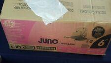 "Lot 5 Juno TC2 6"" Frame-In Kit Recessed Downlight White NEW Orig Open Box"