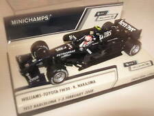 1:43 Williams Toyota FW30 K. Nakajima 2008 Test 400080308 MINICHAMPS OVP new