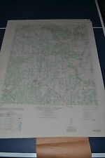 1940's Army topo map Mullin Texas Sheet 6247 II Camp Bowie