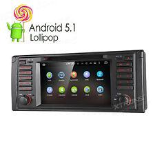 "7"" Quad Cord Android 5.1 HD Car DVD GPS Radio 3G WIFI DAB for BMW 7er E38 E39 M5"