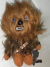 "Star Wars Mini 4"" Talking Plush Toy Clip On - Chewbacca -Last Jedi Skywalker NEW"