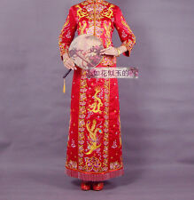 Chinese wedding dress QiPao Kwa Cheongsam 43s Special Traditional Kwa XL Only