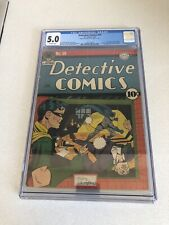 Detective Comics #59 CGC 5.0 - 2nd Appearance Of Penguin - Golden Age 1 / 1942