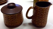 Vintage Ceramano W. Germany Coffee Creamer And Sugar Bowl