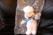WENDELL THE BAKER~PLUSH  PREMIUM~NEW~GENERAL MILLS CINNAMON TOAST CRUNCH CEREAL~