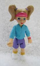 FISHER PRICE GO ANYWHERE Sweet Streets SCHOOL WOMAN LADY GIRL w/ PONYTAILS Rare