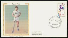 Mayfairstamps Canada Fdc 1982 Terry Fox Marathon of Hope First Day Cover wwh_723