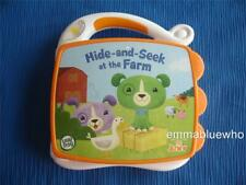 Leap Frog Hide and Seek At The Farm Tag Jr Junior Electronic My First Book Toy