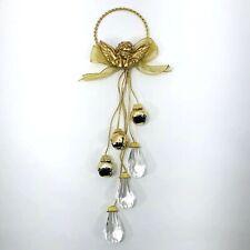 New ListingVictorian Angel Door Knob Hanger 13in Long Christmas Holiday Decoration Bells