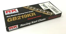 RK Japan GB 219 Pitch Kart Racing Chain 102 Link | Rotax TKM X30