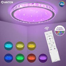RGB LED Deckenleuchte Sternenhimmel Dimmbar Deckenlampe Kinderzimmer Wohnzimmer