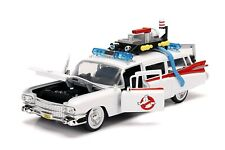"""1959 CADILLAC AMBULANCE ECTO 1 """"GHOSTBUSTERS 1"""" MOVIE 1/18 BY AUTOWORLD AWSS118"""