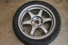 BMW E36 E46 Volk TE37 Replica Style Bronze Wheel Rim 17x8.5 5x120 w/ New Tire