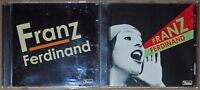LOT DE 2 ALBUMS CD DE FRANZ FERDINAND - DOMINO - 2004/2005 - TRES BON ETAT