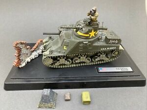 Forces Of Valor US M3 Lee Kentucky Tunisia 1942 Die Cast With Stand Etc