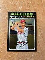 2020 Topps Heritage High Number - Kyle Garlick #THC-708 Chrome Parallel /999 RC