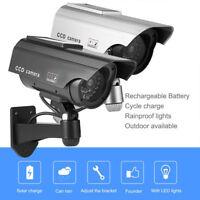 Batterie/solaire Caméra CCTV extérieur surveillance de sécurité IR Night Vision
