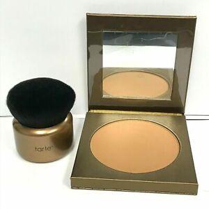Tarte Waterproof Face & Body Bronzer PARK AVE PRINCESS & Kabuki Brush NEW