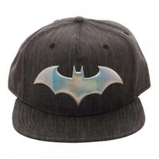 f7765f020054a Bioworld Batman Iridescent Weld Woven Fabric Snapback Hat