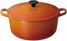 Le Creuset Cast Iron Round Casserole Pans