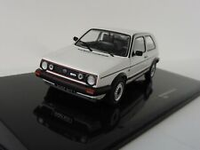 Vw golf 2gti 1989 coche a escala blanco 1 43 Ixo Models