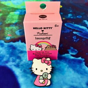 Hello Kitty x Pusheen Loungefly Surprise Enamel Pin - Hello Kitty with Donut