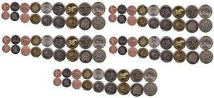#1 - Malawi - 5 pcs x set 9 coins 1 2 5 10 20 50 Tamb 1 5 10 Kw 1996 - 2006 UNC