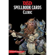 D&D Spellbook Cards: Cleric - Dungeons & Dragons - Version 3 - Laminated