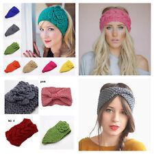 e97478d4454 Ladies womens winter headband wrap earmuff hair band warm knitted ski turban