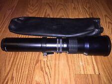 Phoenix Samyang 1:8 f=500mm Camera Lens NO 740847 Korea Nice Condition