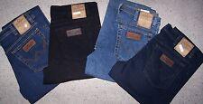 Wrangler Jeans Stretch Texas Blue Black W31/l34