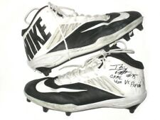 "Ike Boettger Iowa Hawkeyes Game Worn ""2017 Outback Bowl Vs Gators"" Nike Cleats"