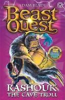 """AS NEW"" Rashouk the Cave Troll: Series 4 Book 3 (Beast Quest), Blade, Adam, Boo"