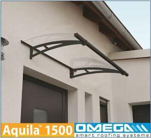 Door Canopy Aquila 1500mm x 920mm - Door Awning, Smoking Shelter, Porch Cover **