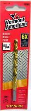 15/64-Inch Vermont American 12365 Jobber Length Titanium Drill Bit - Fractional