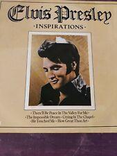 Elvis Presley Inspirations LP Record