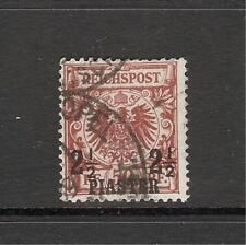 Dt. Auslandspostämter Türkei Mi.Nr. 10a gestempelt von 1889 geprüft