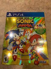 Sonic Mania Plus Playstation 4 include Libro D'arte Sega Genesis reversibile