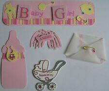 MINI TITLE & EMBELLISHMENT PACK BABY GIRL