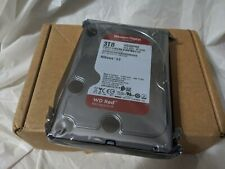 """WD Red 3TB NAS Hard Drive-5400 RPM, SATA 6 Gb/s, 64 MB Cache, 3.5"""" WD30EFRX"""