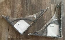2 IKEA EKBY HALL Metal Decorative Wall Mount Shelf Bracket Black Discontinued