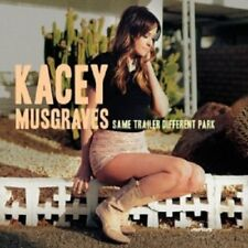 KACEY MUSGRAVES - SAME TRAILER DIFFERENT PARK  CD  12 TRACKS COUNTRY  NEW!
