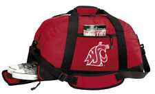 eaf279e7eb Washington State University Duffel Bag or Gym Bag SEPARATE SHOE POCKET!
