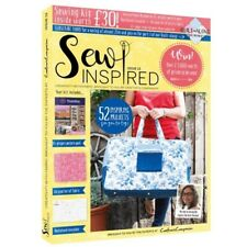 SEW INSPIRED MAGAZINE ISSUE 13 WITH FREE SEWING KIT WORTH £30 AUTUMN 2018