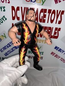 WWF LJN BAM BAM BIGELOW 1989 WWE WRESTLING SUPERSTARS FIGURE SERIES 6 BLACK CARD