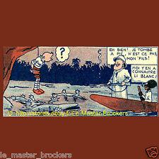 Coeurs Vaillantes Ames Vaillants 15/2/1942 planche Tintin et Milou la brousse