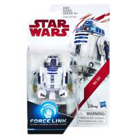 "STAR WARS THE LAST JEDI FORCE LINK 3.75"" ACTION FIGURE R2-D2 MOC CASE FRESH!!!"